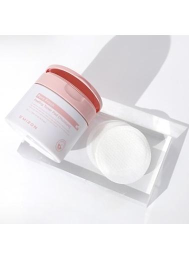 Mizon Mizon Pore Fresh Peeling Toner Pad Moisture Gözenek Ferahlatıcı Nemlendirici Peeling Tonik Pamukları Renksiz